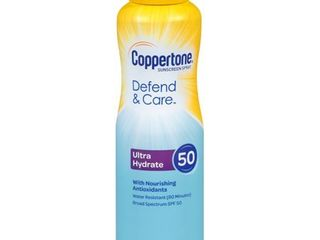 Coppertone Clearly Sheer C Sunscreen Spray   SPF 50   5oz