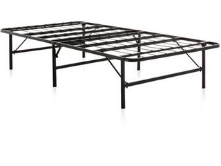Weekender Folding Metal Platform Queen Bed Frame