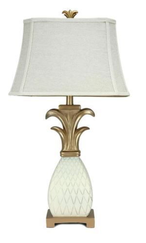 32 inch Mediterranean Pineapple Table lamp