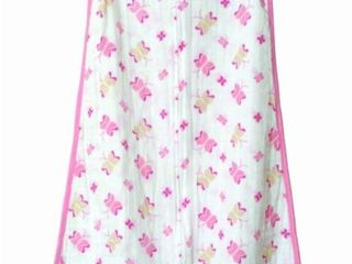 Aden   Anais Classic Muslin Sleeping Bag  Princess Posie  Small
