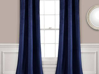 Prima Velvet Room Darkening Window Curtain Panels   lush DAccor
