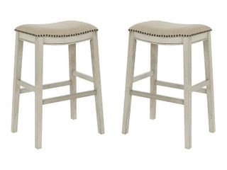 Saddle Stool 30 inch  Set of 2