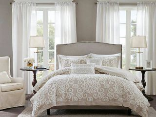 Harbor House Suzanna Ivory 3 Pc  King Comforter Mini Set Bedding