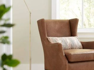 Adesso Vintage Adjustable 3 Joint Floor lamp  Retail 144 97
