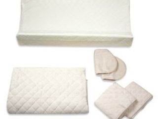 Summer Infant Change and Sleep 8 Piece Organic Complete Nursery Accessory Set