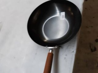 12  Nonstick Carbon Steel Wok W  Stay Cool Handle