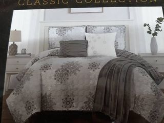 King Classic Collection 6 Piece Quilt Set