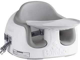 Bumbo Baby 3 in 1 Multi Feeding Seat  White   Grey  used For 2 Mnths