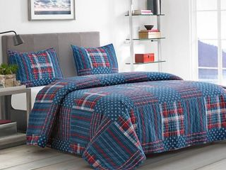 King Boston Traders Home 3 Piece Quilt Set