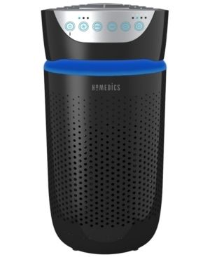HoMedics TotalClean 5 in 1 Tower Air Purifier with Uv c light