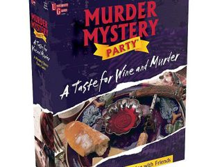 A Taste for Wine and Murder  Murder Mystery Party by University Games