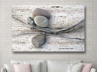 The Gray Barn Elena Ray  Still life Sticks Stones  Gallery Wrapped Canvas Art