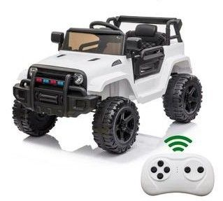 leadzm Electric 12V Kids Battery Ride On Car w  MP3   Remote Control   White Model lZ922