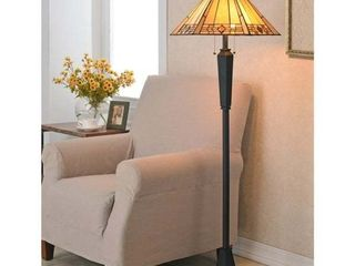 Gracewood Hollow Kiana 59 inch Bronze Pull Chain Floor lamp