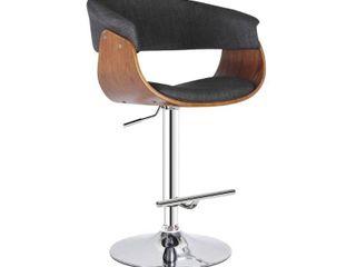 Mid Century Modern Swivel adjustable Barstool