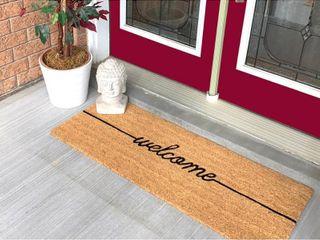 18 x 48 Welcome large Coir Doormat