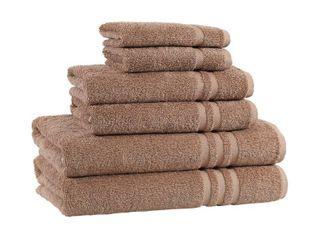 Copper Grove Tracadie Turkish Cotton 6 piece Terry Bath Towel Set