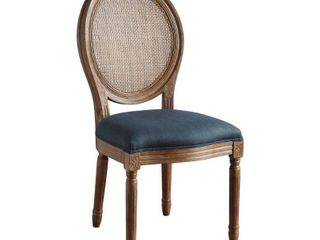Stella Oval Back Chair   Navy