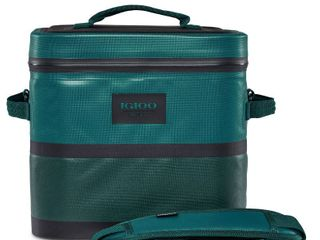 Igloo Reactor Portable 18 Can Soft Sided Insulated Waterproof Cooler Bag  Teal  Retail  113 99