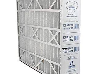 Trion 266649 102 Air Bear 20 x 25 x 5 Inch MERV 13 Air Purifier Filter  Retail  34 75