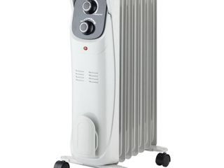 Comfort Zone Rolling Electric Silent Operation Oil Filled Home Radiator Heater  Retail  44 99