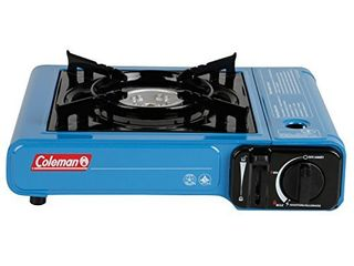 Coleman Portable Butane Stove  Blue with Carrying Case  Retail  51 07