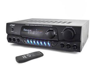 Pyle 200 Watt Bluetooth Digital Receiver Amplifier with AM FM Radio   PT265BT  Retail  219 99