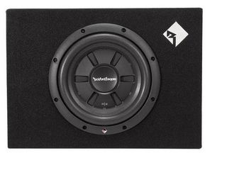 Rockford Fosgate 10  400W Shallow Car Audio Subwoofer with Enclosure   R2S 1X10  Retail  175 99