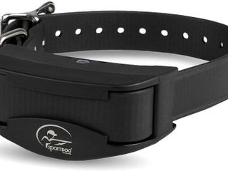 SportDOG Brand Rechargeable In Ground Fence Add A Dog Collar   Waterproof with Tone Vibration and Static   SDF CR Black  Retail  119 99