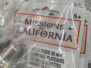 Missions of California Bells  26mm  Qty  4 bags