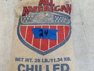 All American Chilled lead Shot 25lB