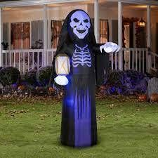 gemmy airblown inflatable skeletal reaper