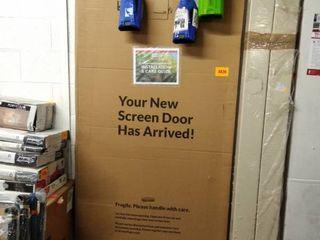 screen tight solid screen door white