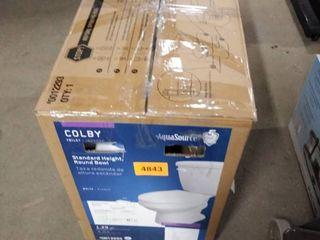 aqua source colby toilet white