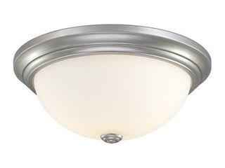 Millennium lighting 5405 3 light Flush Mount Ceiling Fixture   Silver