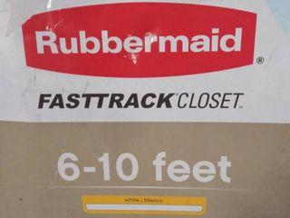 rubbermaid fastrack closet