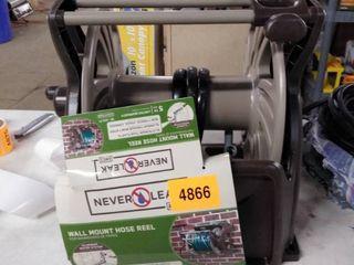 neverleak wall mount hose reel