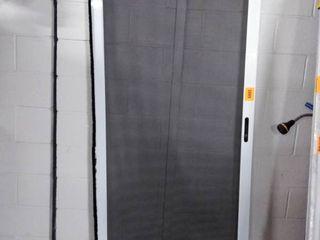 grisham heavy duty universal sliding patio screen door 36x80 white