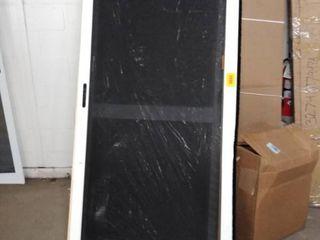 grisham heavy duty universal sliding patio screen door white