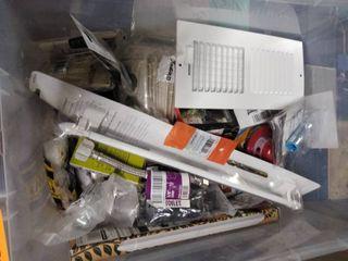 tub of vairety items