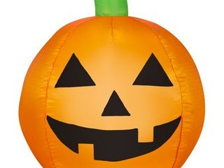 Airblown Inflatable Traditional Jack O lantern by Gemmy Industries