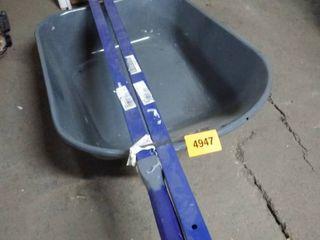 true temper wheel barrel tub and handles only