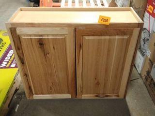 wall cabinet 30x36 pine