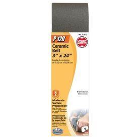 Shopsmith 120 Grit 3 in W x 24 in l Sanding Belt Sandpaper  Set of 4