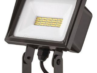 lithonia lighting QTE 40 Watt Dark Bronze Outdoor Integrated lED Flood light