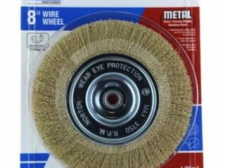 Ali Industries 241505 8 in  Wire Brush Wheel