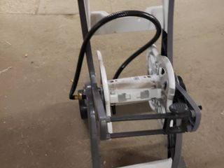 Water Hose Reel Cart 175 Ft Durable Mobile Holder Storage Wheels Patio Garden
