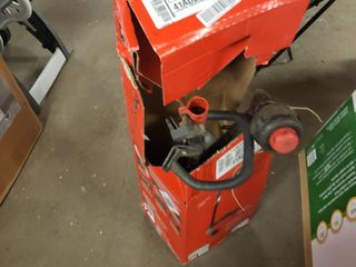 17 Inch Straight Shaft Gas String Trimmer With Attachment And Edger 2 Cycle 25cc  Used