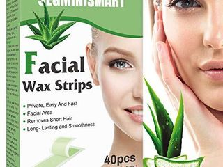 Facial Wax Strips Hair Removal Wax Strip Mini Face Wax Strips  AMOUNT unknown not COUNTED
