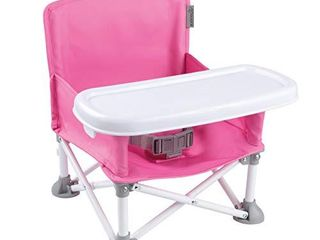 Summer Pop an Sit Portable Booster Chair  Pink a Booster Seat for Indoor Outdoor Use a Fast  Easy and Compact Fold